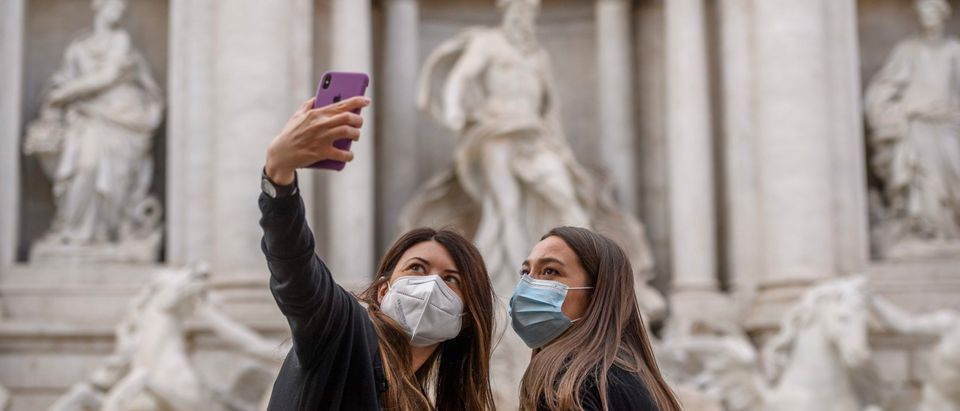 International Tourists Return To Rome As Covid-19 Restrictions Eased