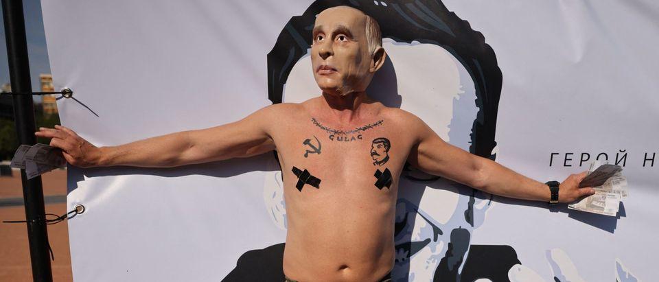 SWITZERLAND-RUSSIA-POLITICS-DIPLOMACY-DEMONSTRATION