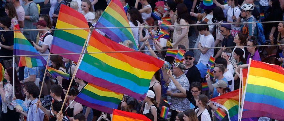 POLAND-RIGHTS-GENDER-LGBTQ-PRIDE-PARADE