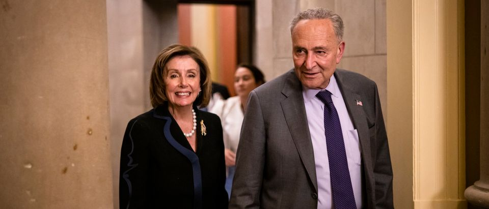 Members Of Congress Work On Infrastructure Legislation On Capitol Hill