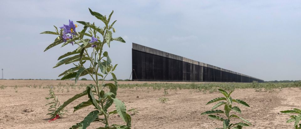 Trump Border Wall Stands Unfinished Following Biden Construction Suspension