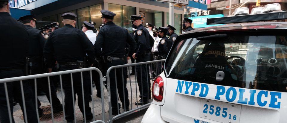 New York City Increases Security As Derek Chauvin Verdict Looms