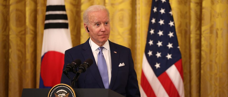 President Biden Holds Press Conference With Korean President Moon At The White House