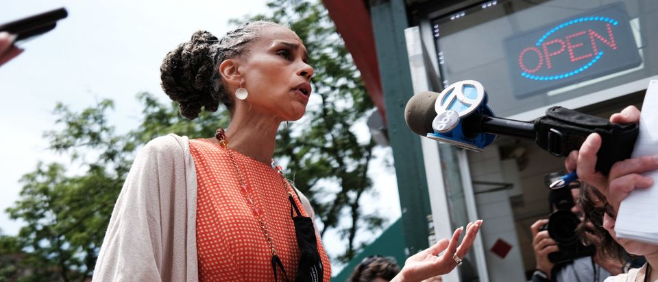 Maya Wiley Campaigns For Mayor Of New York City