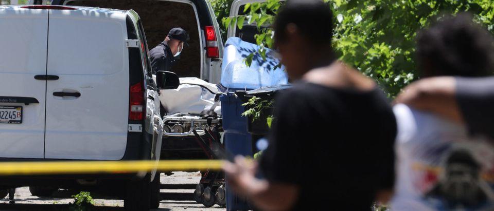 Multiple People Shot In The Englewood Neighborhood Of Chicago