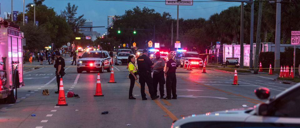 Truck Drives Into Crowd At Florida Pride Parade Killing One