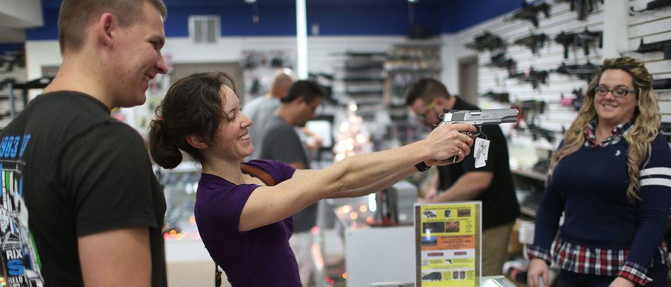 Holiday Gun Sales Soar In U.S.
