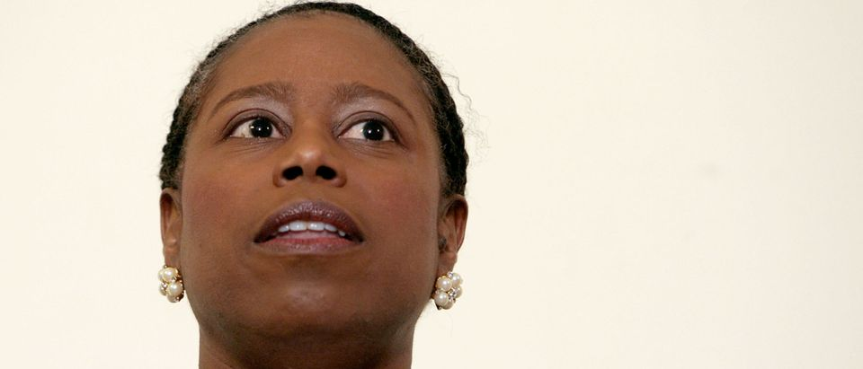 Green Party Candidate Cynthia McKinney Holds News Conference