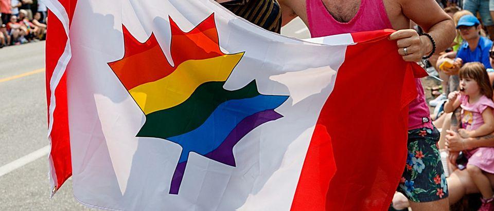 """Netflix's """"Sense8"""" Cast Attends Vancouver Pride Parade"""