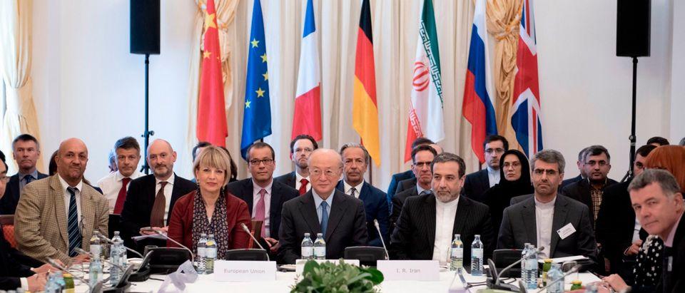 AUSTRIA-EU-IRAN-NUCLEAR-POLITICS-DIPLOMACY-ENERGY