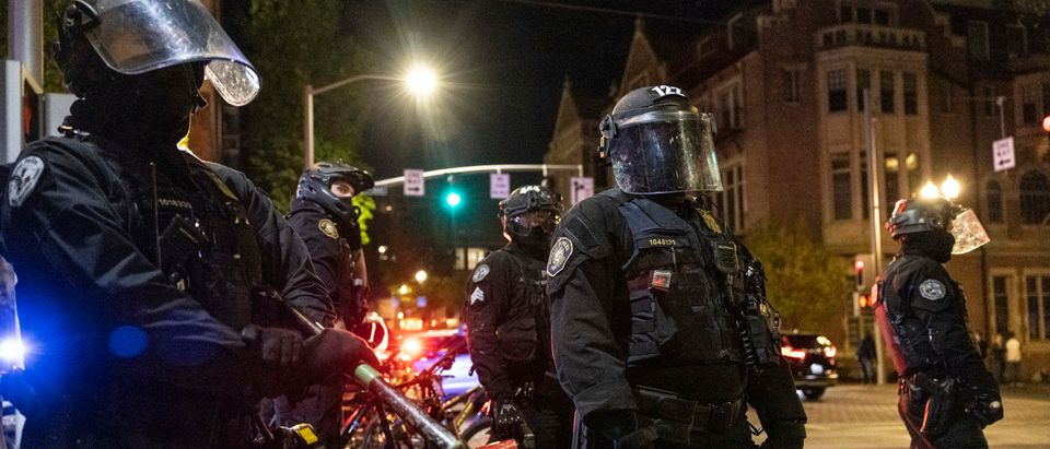 Portland Police React To Protest