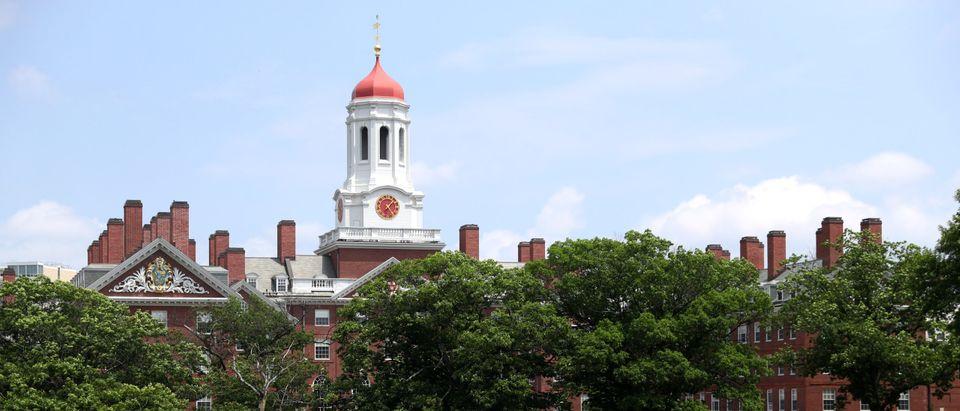 Harvard University in Cambridge, Massachusetts. (Photo by Maddie Meyer/Getty Images)