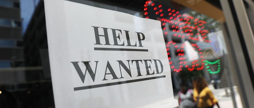 Help Wanted Sign Getty
