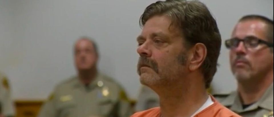 Mark Redwine on trial for allegedly murdering his son.