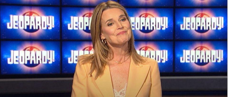 Jeopardy! Savannah Guthrie