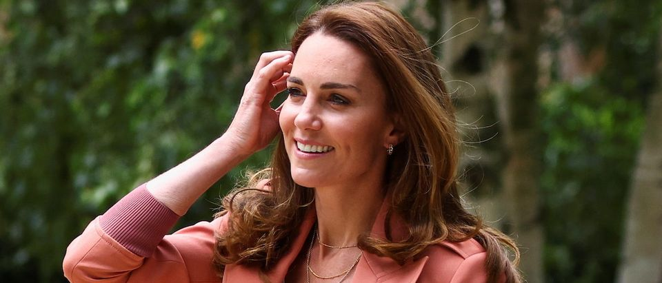 Britain's Catherine, Duchess of Cambridge visits The Natural History Museum in London
