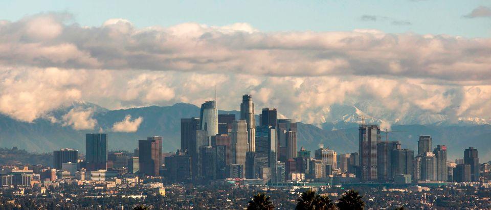 Los Angeles Skyline Getty