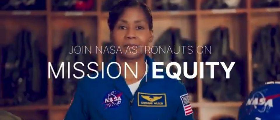 Photo of Mission Equity video. [Twitter:Screenshot:@NASA]