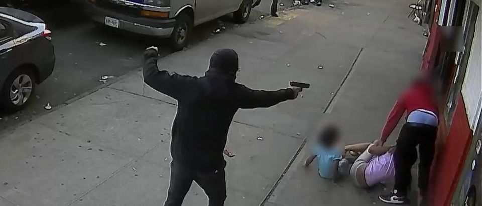 Photo of shooting [Email:Screenshot:NYPD]