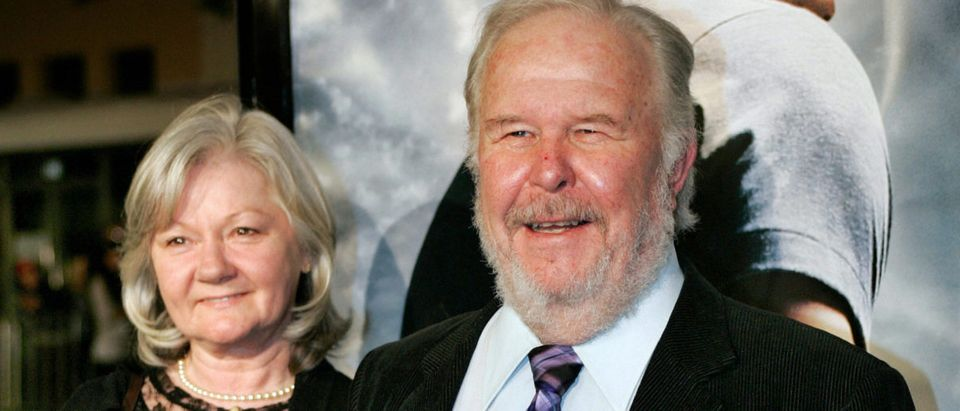 Actor Ned Beatty and his wife Sandra Joh