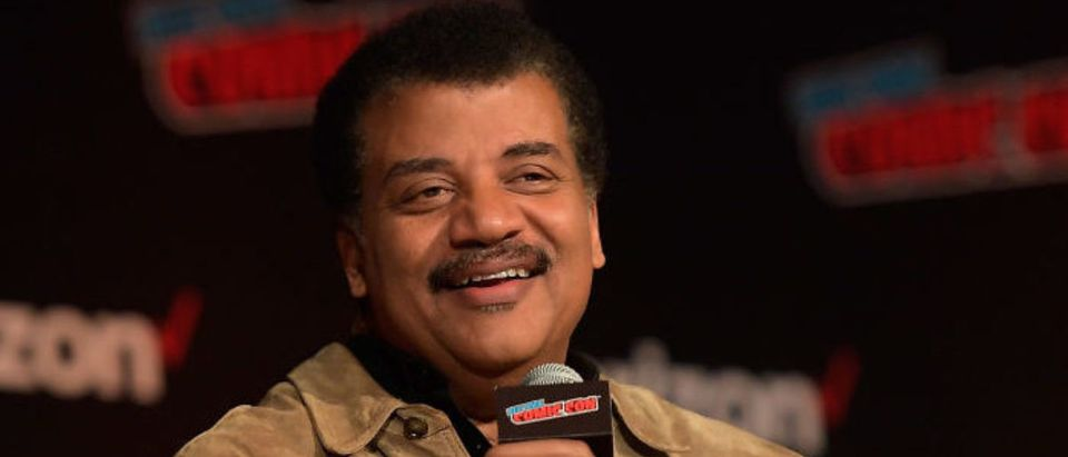 NEW YORK, NY - OCTOBER 04: StarTalk @ New York Comic Con, Hosted by Neil deGrasse Tyson at Javits Center on October 4, 2018 in New York City. (Photo by Roy Rochlin/Getty Images)