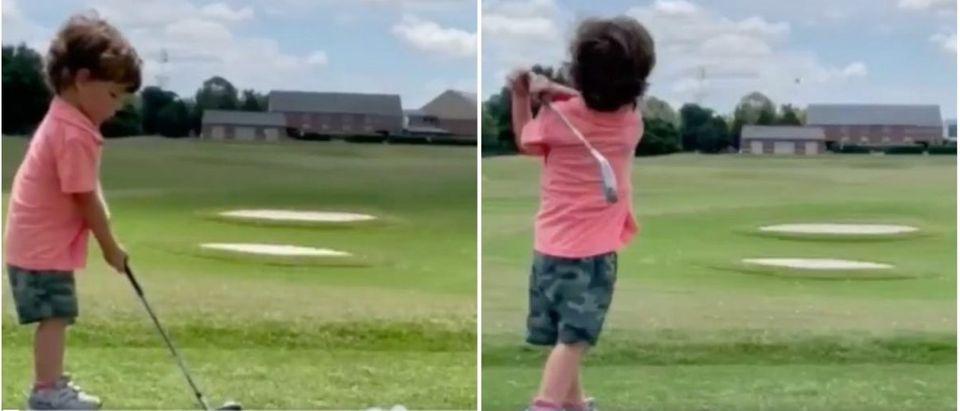 Ron_DeSantis_Son_Golf