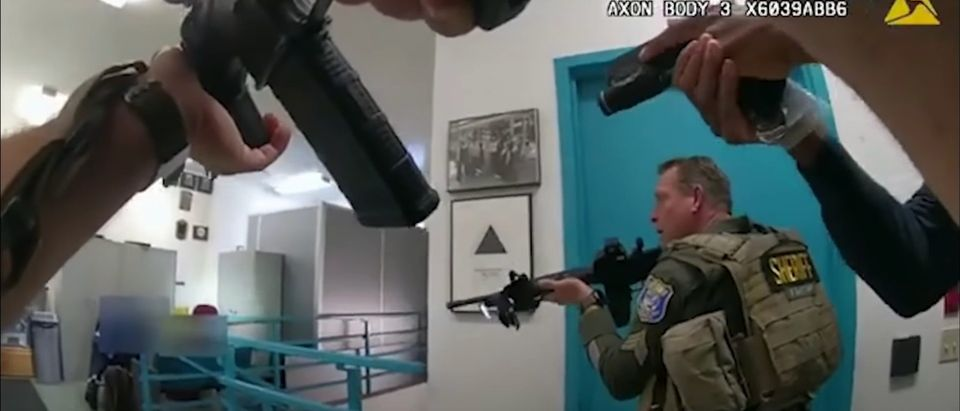 Body Camera Footage Of San Jose Shooting