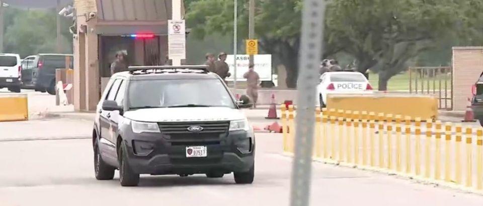 Joint Base San Antonio-Lackland In Lockdown