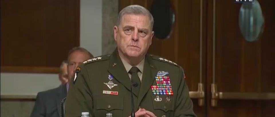 General Mark A. Milley Testifies Before Congress