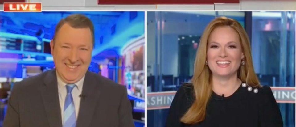 "Marc Thiessen and Gillian turner appear on ""The Faulkner Focus."" Screenshot/Fox News"