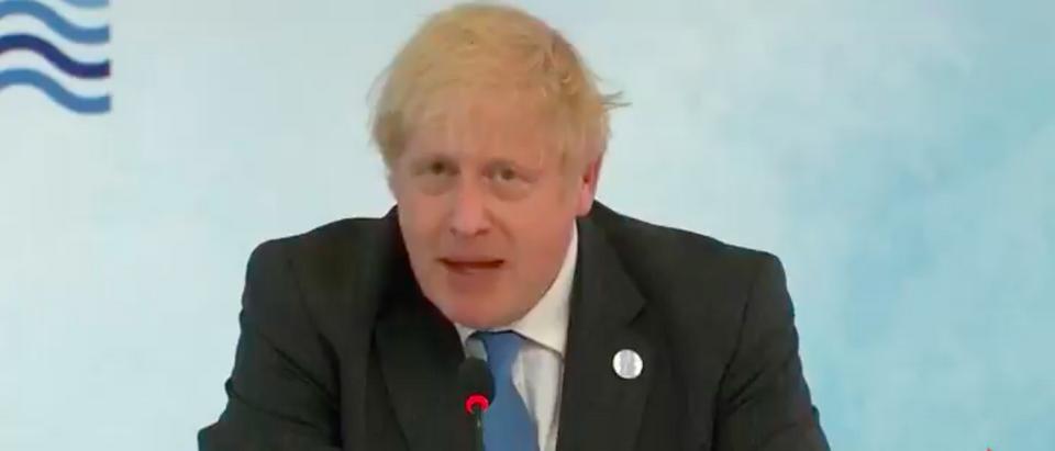 Boris Johnson Says G-7 Nations Need To Build Back Better