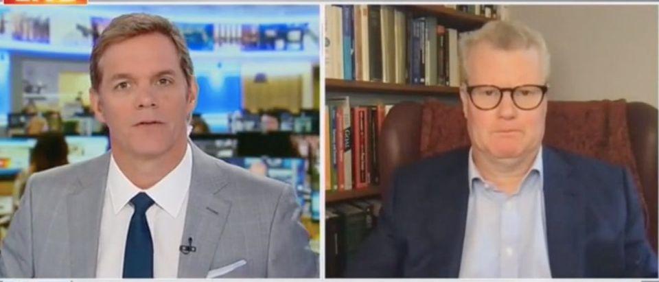 "Bill Hemmer and David Asher appear on ""America's Newsroom."" Screenshot/Fox News"