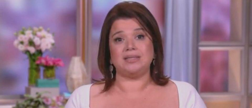 "Ana Navarro appears on ""The View."" Screenshot/ABC"