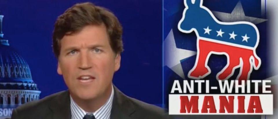 "Tucker Carlson appears on ""Tucker Carlson Tonight."" Screenshot/Fox News"