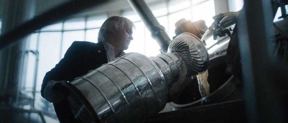 Molson Stanley Cup Beer (Credit: Screenshot/YouTube https://www.youtube.com/watch?v=8kEe0JGyhnQ)
