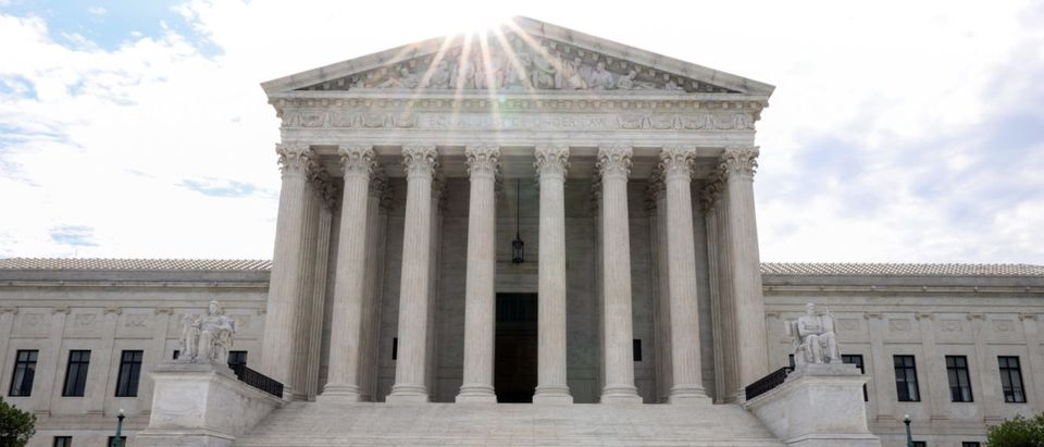The Supreme Court on June 10, 2021 in Washington, DC. (Photo by Kevin Dietsch/Getty Images)