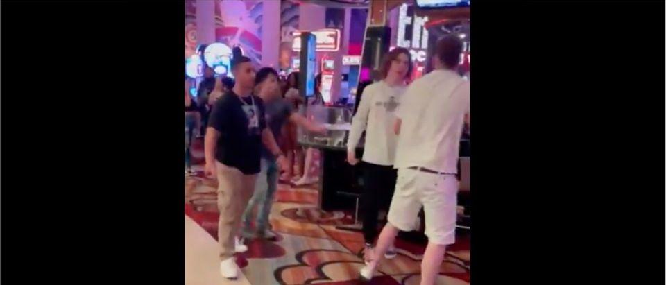 Vegas_Fight_Video