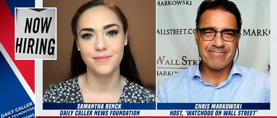 Chris Markowski speaks with the Daily Caller News Foundation