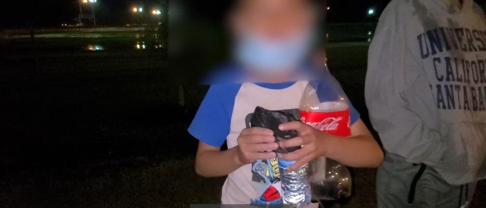 Unaccompanied Minor From Honduras