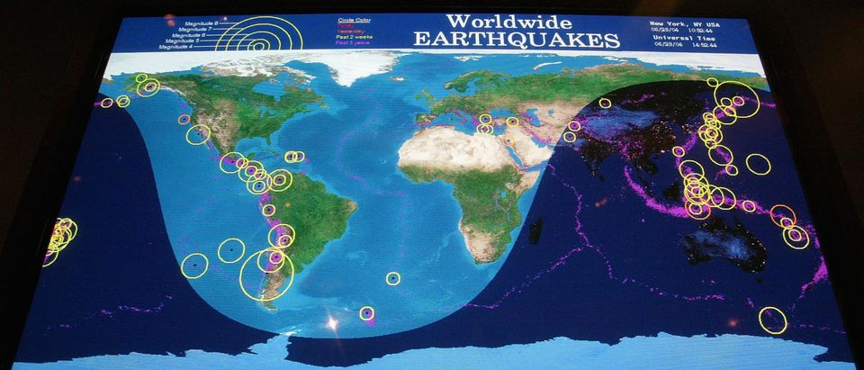 Earthquake Station Monitors Seismic Activity Around The World