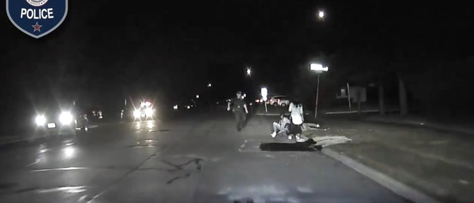 An Aurora Police Officer was attacked and strangled during a traffic stop [Facebook:Screenshot:Aurora Police]