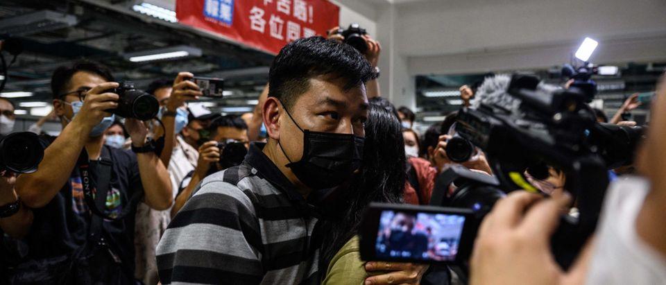 HONG KONG-CHINA-POLITICS-MEDIA