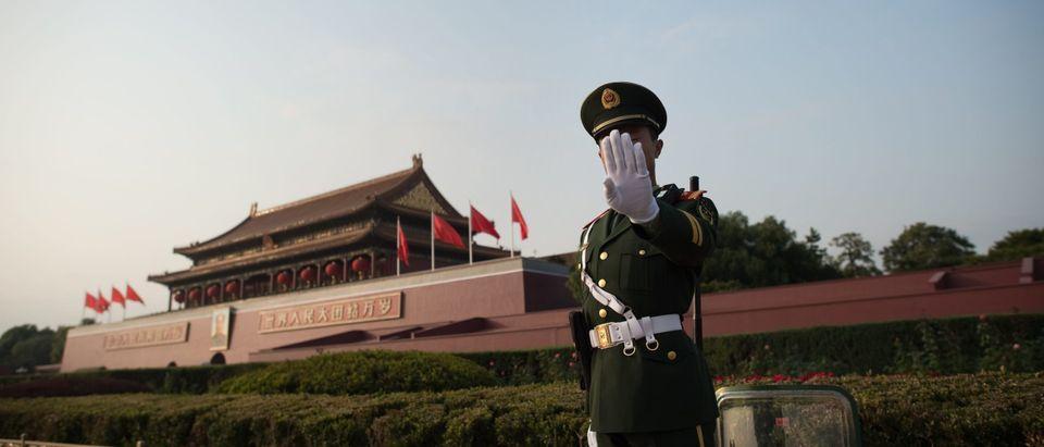 Chinese Military Man Getty
