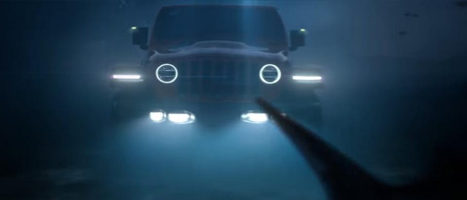 Screenshot Jeep Underwater