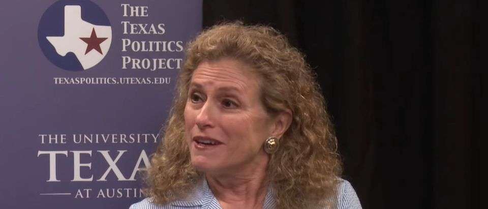 Picture of Democratic state Rep. Donna Howard. [Youtube:Screenshot:TexasPoliticsProject]