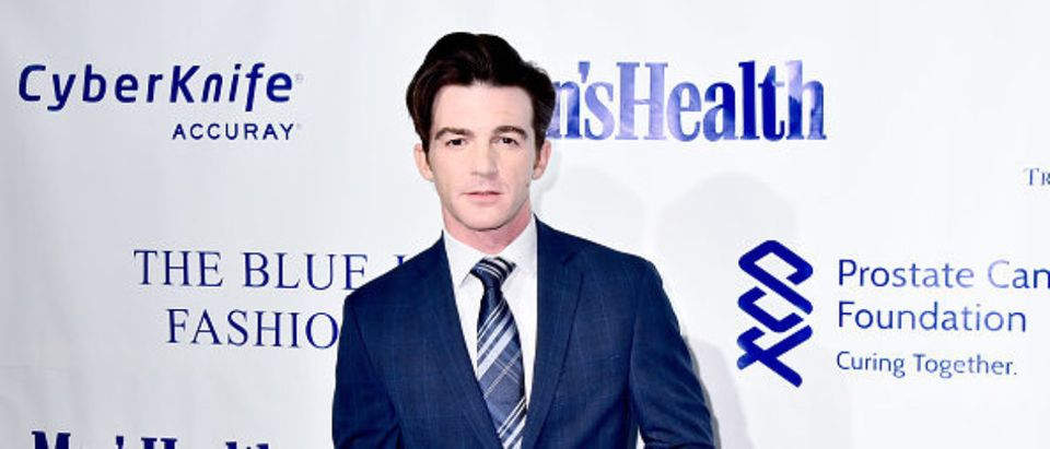 Drake Bell attends the 3rd Annual Blue Jacket Fashion Show in New York City. Photo by KRis Connor. Getty.