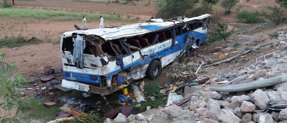 PAKISTAN-ROAD-CRASH