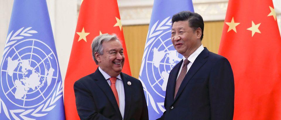 Xi Jinping Meets With UN Secretary-General Antonio Guterres