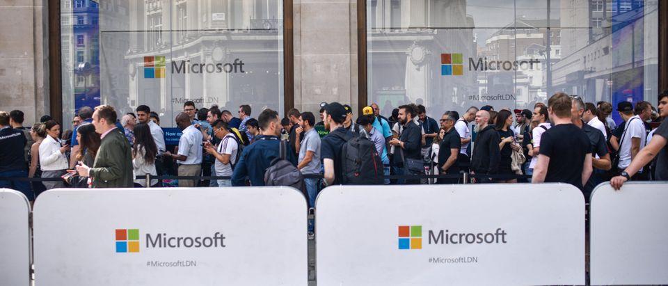 Microsoft Launch Flagship London Store
