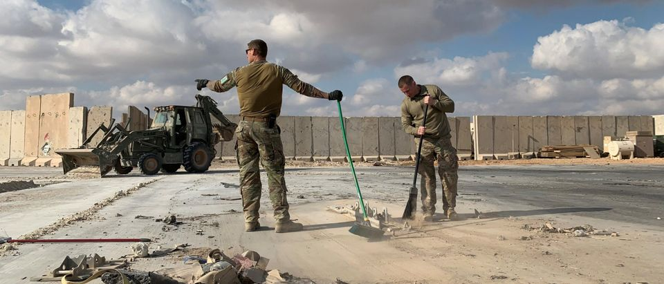 Rockets Hit Base Housing US Troops In Iraq, Two Wounded